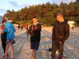 Obóz nad zatoką gdańską