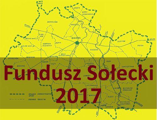 Fundusz sołecki 2017