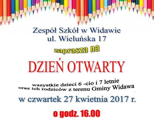 Dzień otwarty w Zespole Szkół w Widawie