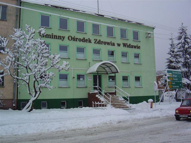 Budynek Gminnego Ośrodka Zdrowia wWidawie